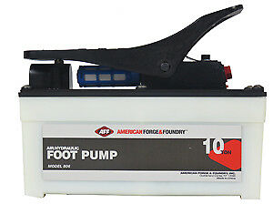 Aff American Forge 806 10 Ton Air hydraulic Foot Pump