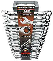 Gearwrench 85099 16 Piece Metric Gearwrench Xl Set 8mm 23mm 24mm Brand New