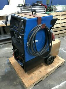 2013 Miller Syncrowave 250 Dx Tig Welder With Cart Accessories 907195