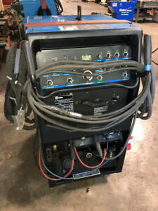 2013 Miller Syncrowave 350 Lx Tig Welder With Cart Accessories 907199