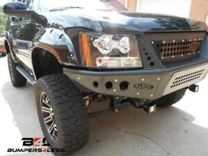 Add F1503452580103 Stealth Front Bumper For 2007 2014 Chevrolet Tahoe Avalanche