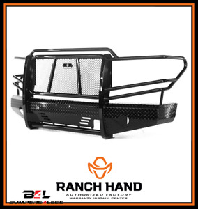 Ranch Hand Fsd13hbl1 Summit Series Black Pc Front Bumper For 2013 2018 Ram 1500
