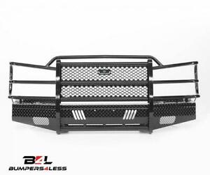 Ranch Hand Fsc03hbl1 Black Pc Front Bumper For 2003 2006 Avalanche 1500