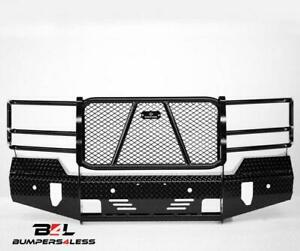 Ranch Hand Fsc16hbl1 Summit Series Blk Pc Front Bumper For 2016 2018 Chevy 1500