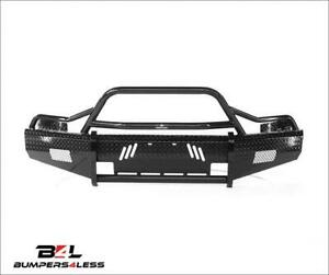 Ranch Hand Bsc08hbl1 Summit Series Blk Pc Front Bumper For 2007 2013 Chevy 1500