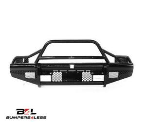 Ranch Hand Btc081blr Legend Bullnose Black Front Bumper 07 10 Chevy 2500 3500 Hd