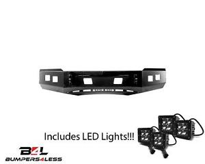 Ranch Hand Bhc151bmn Horizon Black Front Bumper For 2015 2018 Chevy 2500 3500hd