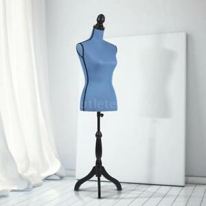 Adjustable Female Mannequin Tripod Stand Form With Wood Tripod Stikayaa V4a4