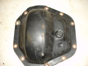 Dana 60 Front 10 Bolt Differential Cover Dodge Gm Truck Oe Thick Steel