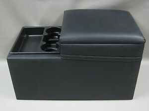Large Truck Black Center Console Suv Van And Medium Duty Commercial Vehicle