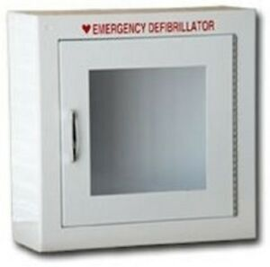 Modern Metal Products Wall Mounted Emergency Aed Cabinet W alarm