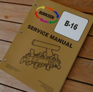 Bobcat T116 Tractor Trencher Ditcher Plow Owner Service Manual Repair Shop Book