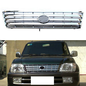 For Toyota Land Cruiser Prado 3400 96 02 Abs Bumper Grille Grill Vent Hole Trim