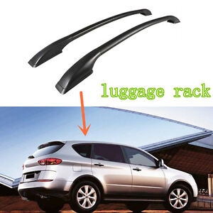 For Subaru Tribeca 2008 2014 Plastic Aluminum Alloy Roof Racks Luggage Rack