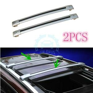 Aluminum Alloy Auto Baggage Holder Roof Rack Bars For Ford Explorer 2013 2016