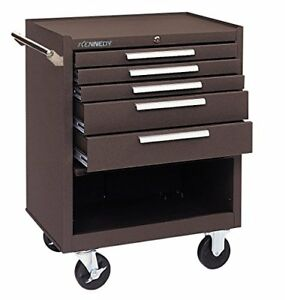 Kennedy Manufacturing 275xb 5 drawer Roller Tool Cabinet With Chest Wheels And