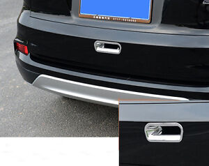 1pc Abs Chrome Trunk Rear Door Handle Bowl Cover Trim For Honda Cr V Crv 2012 16