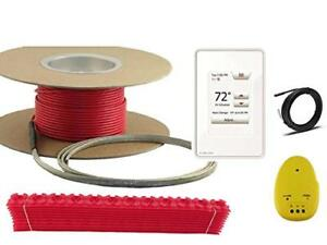 110 Sqft Warming Systems 120 V Electric Tile Radiant Floor Heating Cable With