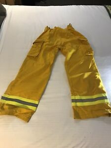 Lion Apparel Wildland Firefighting Pants 30r X 29 Protective 7 5 Oz Nomex Iiia