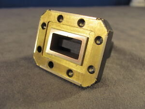 Waveguide Wr75 Low Power Termination Ku band 10 To 15 Ghz length 1 75