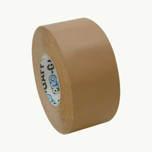 Pro Tapes Pro gaff Gaffers Tape 3 In X 55 Yds tan