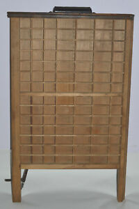 Vintage Printer s Letterpress Type Tray Drawer Shadow Box Ludlow Style Case