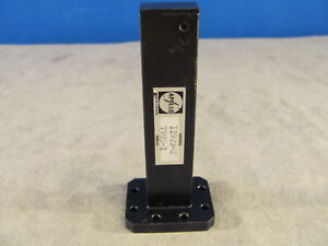 Waveguide Wr75 Low Power Termination Ku band 10 To 15 Ghz length 4 00