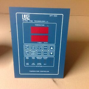 Ultra Fab Technology Model Uft 820 Temperature Controller For Wet Sink Bench