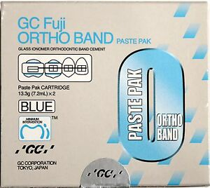 Orthodontic Gc Fuji Cem Ortho Band Cement genuine Exp Oct 2019 2xcartridges