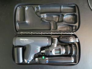 Welch Allyn Diagnostic Set Panoptic li ion Handle Extra Coaxial Opthalmoscope