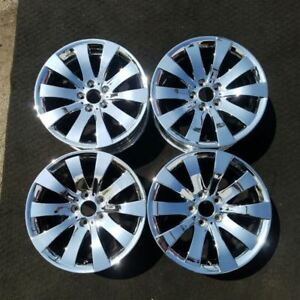 1 Set Chrome 18 Bmw 09 2017 535i 550i 650i 740i 750i 760i Oem Wheels Rims 71325