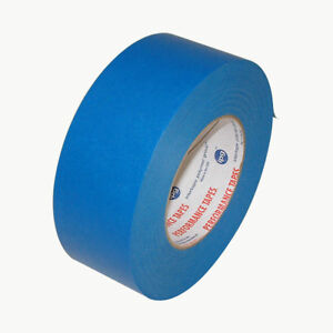 Intertape Ps1 Premium Paper Flatback Tape 2 In X 60 Yds royal Blue