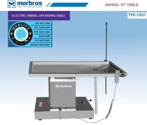 New Surgical Veterinary Operating Table Model Tmi 1301 Electric Lift Up