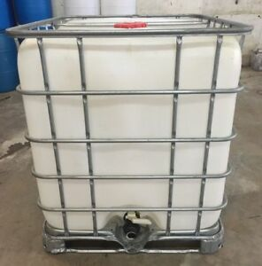 275 Gallon Ibc Tote Food Grade Plastic Storage Water Container Poly Tank