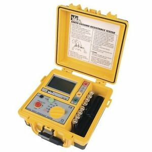 Ideal 61 796 3 pole Earth Ground Resistance Tester