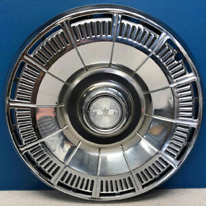One 1980 1985 Chevrolet Caprice Impala 3125 15 Hubcap Wheel Cover 10148067