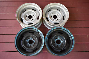 Set Of Corvette Rally Wheels Dated Late July 1969