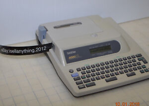 Brother Professional 4000xl 4000 Xl Electronic Label Maker Labeling Machine