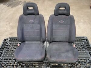 Jdm 97 02 Authentic Fit For Subaru Forester Sf5 Sti Red Stitch Front Seats