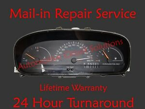 96 00 Chrysler Town And Country Instrument Gauge Cluster Display Repair Service
