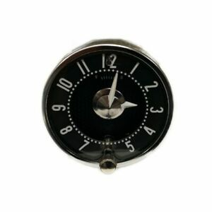 1958 1962 Corvette Clock Brand New With Quartz Mechanism