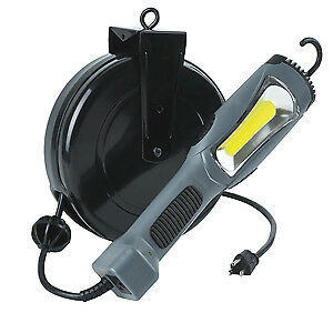 Alert Safety 5030am 1300lm Cob Led Task Light 30 Retractable Reel