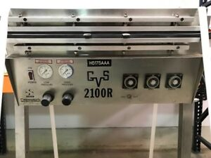 Gramatech Gvs 2100r Vacuum Bag Sealer Including Custom Stainless Stand
