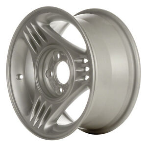 94 95 Ford Mustang 15 X 7 3 Slot Oem Factory Painted Silver Wheel Rim 3087