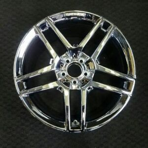 19 Chrome 2014 15 2016 Mercedes Benz Amg S550 Rear Oem Factory Wheel Rim 85350