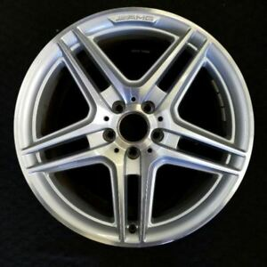 18 Mercedes C250 C300 C350 08 15 Amg Rear Oem Factory Original Wheel Rim 85057