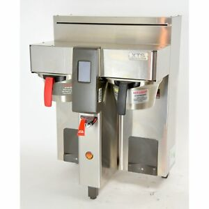 Fetco Cbs 2132 Xts Double Automatic Coffee Brewer Commercial Machine 2132xts 240