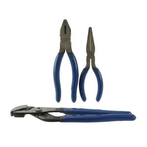 Blue point By Snap on 3 Piece Pliers Wire Cutter Set Awp100bpp 57bpp 56bpp