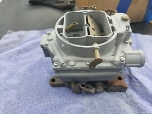 Wcfb Carter 4 Barrel Carburetor Gm Chevy Cadillac Chevrolet Corvette 6 1586