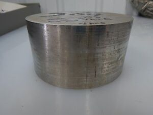 347 Stainless Steel Bar Round Plate 5 75 O d 2 150 Thick 347 Ss